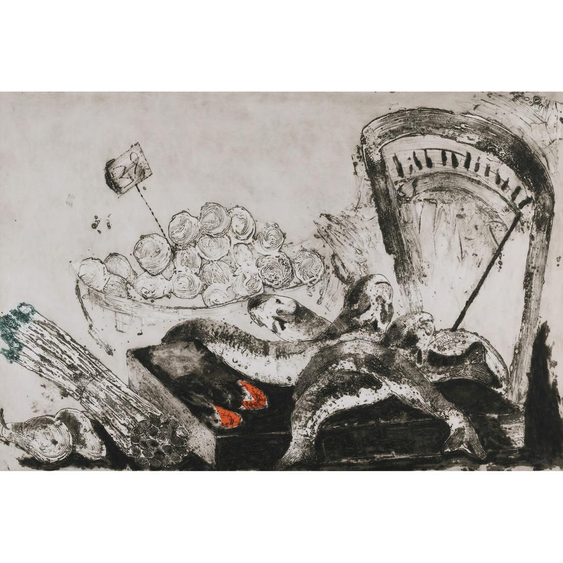 Miquel Barcelo (born 1957) La balance - 1987