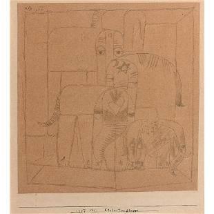 Paul Klee (1879-1940) Elefantengruppe (Group of