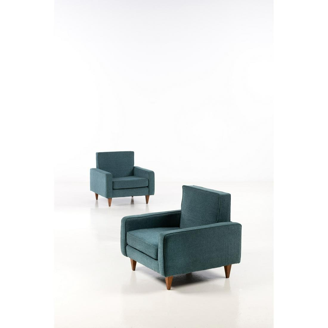 Joaquim Tenreiro (1906-1992) Pair of armchairs -