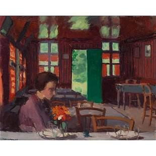 Albert Marquet (1875-1947) Madame Marquet à Vieux