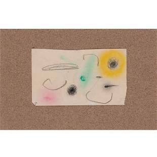 Joan Miro (1893-1983) Untitled, June 1st 1960