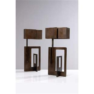 Angelo Brotto (1914-2002) Pair of table lamps