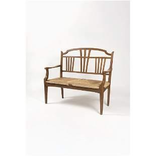 Gustave Serrurier-Bovy (1858-1910) Bench