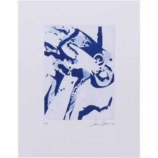 Sam Francis (1923-1994) Untitled (SFE-048) - 1987