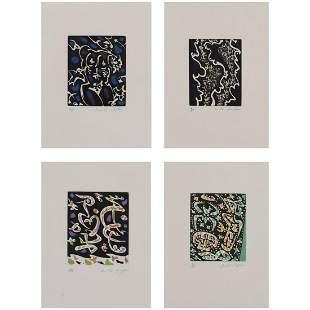 André Masson (1896-1987) Mines de rien - 1957