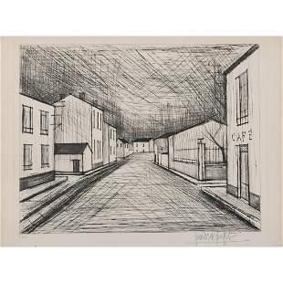 Bernard Buffet (1928-1999) La rue - 1955