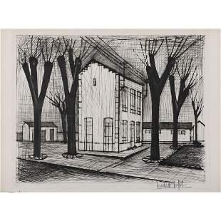 Bernard Buffet (1928-1999) L'école - 1953