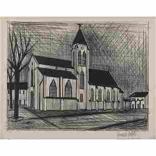 Bernard Buffet (1928-1999) L'église - 1954