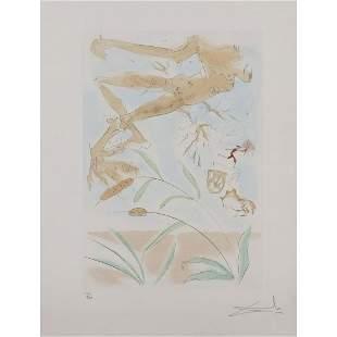 Salvador Dalí (1904-1989) Le chêne et le roseau -
