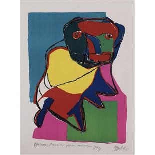 Karel Appel (1921-2006) Untitled - 1969