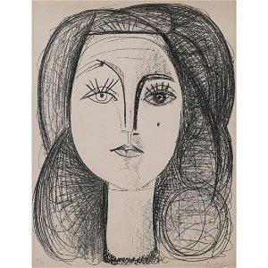 Pablo Picasso (1881-1973) Françoise - 14 juin 1946