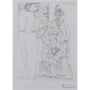 Pablo Picasso (1881-1973) Marie-Thérèse considérant