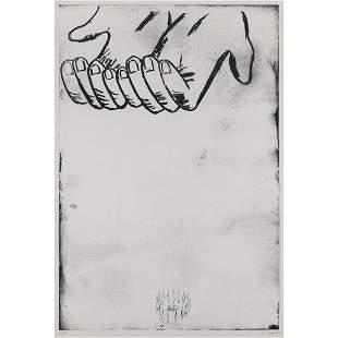Enzo Cucchi (1949-) La Mana II - 1991