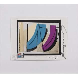 Æ' Andy Warhol (Andrew Warhola) (1928-1987) U.N. Stamp