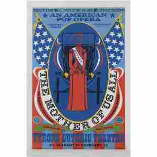 Robert Indiana (1928-2018) The Mother of Us All - 1967