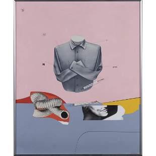 Peter Klasen (born 1935) Untitled - circa 2000