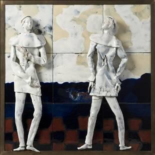 Fausto Melotti (1901-1986) Pannello Decorativo,