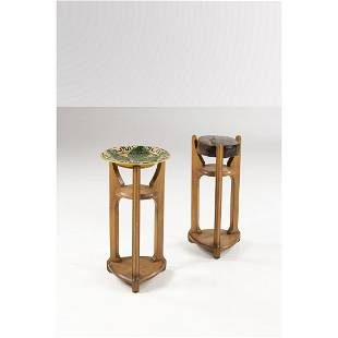 Arts and Crafts production (19th c.-20th c.) Set of two