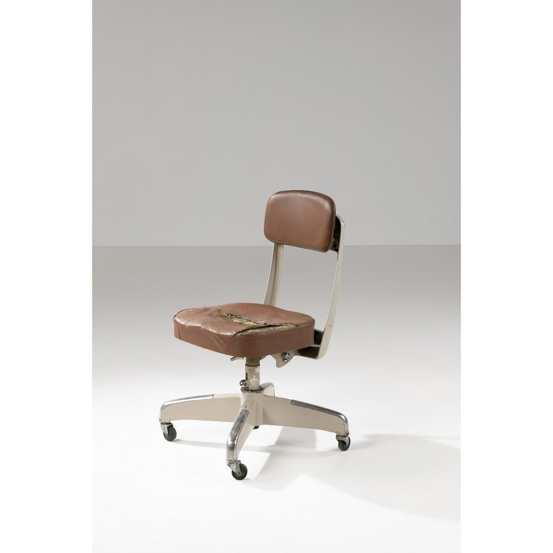 Gio Ponti (1891-1979) Desk armchair