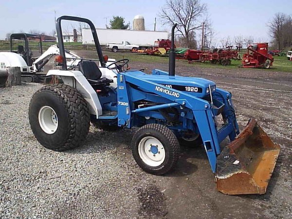 New Holland Ford Tractor 1920 : New holland ford wd tractor w loader