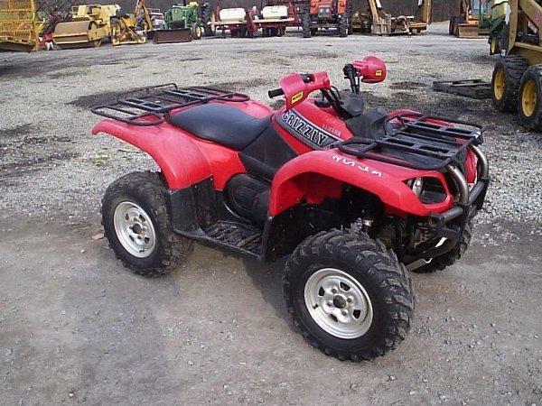 56: YAMAHA 660 GRIZZLEY 4WD ATV
