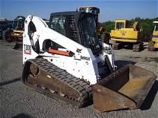66: BOBCAT T 300 TRACK SKID STEER W/CAB/HEAT 1133 HRS