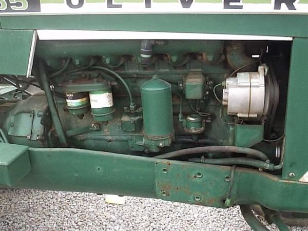 97: NICE OLIVER 1655 DIESEL TRACTOR !!WIDE FRONT!! - 5