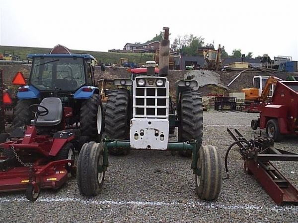 97: NICE OLIVER 1655 DIESEL TRACTOR !!WIDE FRONT!! - 7