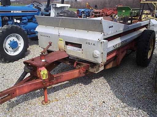 Pto Manure Spreader : New idea a pto manure spreader for tractors