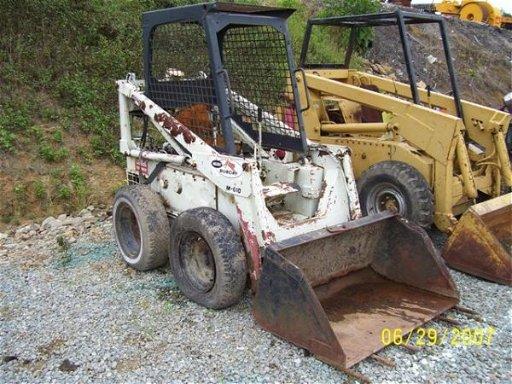1001: BOBCAT M 600 SKID STEER LOADER DIESEL ENGINE