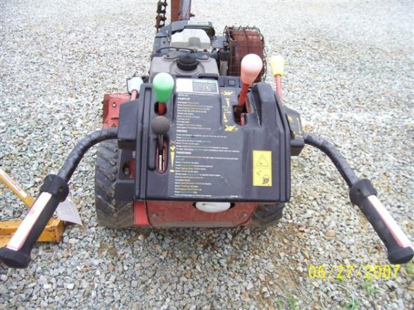 1003: DITCH WITCH 1020 WALK BEHIND TRENCHER - 4