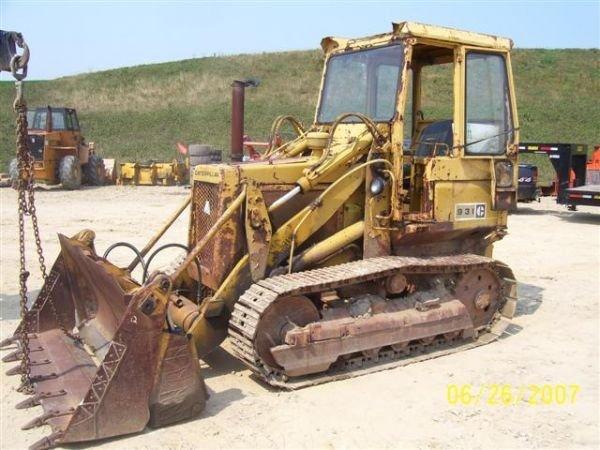 1005: CAT 931 CRAWLER LOADER W/CAB/4IN1 BUCKET FIXER UP