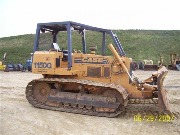 1081: CASE 1150 G CRAWLER DOZER W/ 6 WAY BLADE NICE MAC - 6