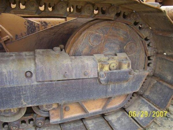 1081: CASE 1150 G CRAWLER DOZER W/ 6 WAY BLADE NICE MAC - 7