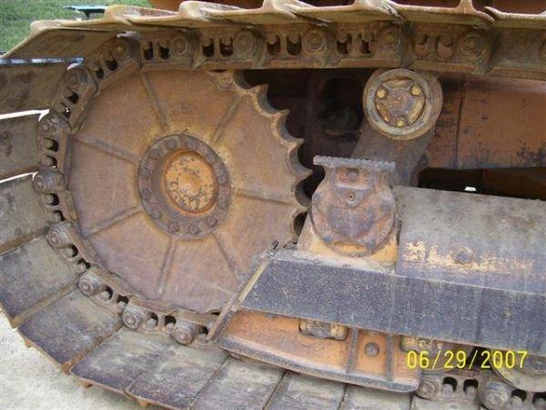 1081: CASE 1150 G CRAWLER DOZER W/ 6 WAY BLADE NICE MAC - 8