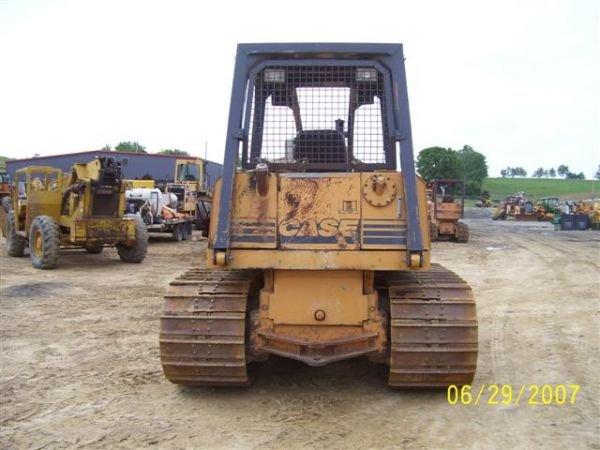 1081: CASE 1150 G CRAWLER DOZER W/ 6 WAY BLADE NICE MAC - 9