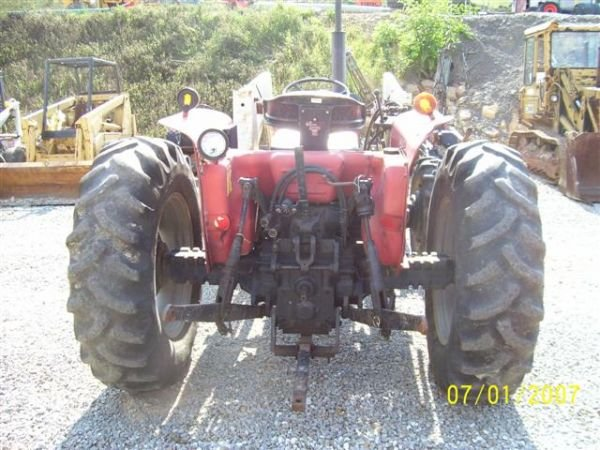 1098: CASE IH 385 4WD TRACTOR WITH FRONT LOADER  - 7