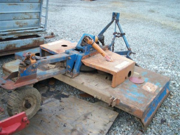 9: WOOD D80 80 INCH 3PT ROTARY MOWER