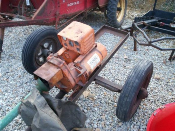 16: 15 KW PTO GENERATOR FOR TRACTORS ON CART