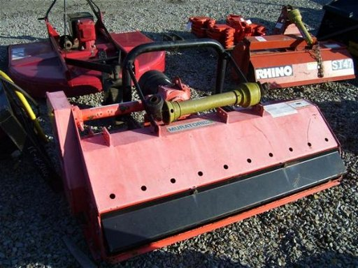 62: MURATORI MT121 60 IN 3PT FLAIL MOWER FOR TRACTORS