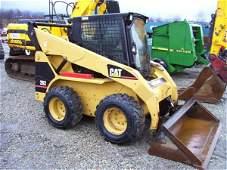 104: NICE CAT 262 SKID STEER LOADER W/CAB/HEAT/544 HRS