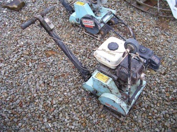 7A: TARGET CONCRETE SAW-HONDA ENGINE-DIAMOND BLADE