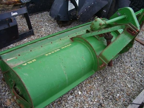 "47: JOHN DEERE 25A 84"" 3PT FLAIL MOWER FOR TRACTORS"