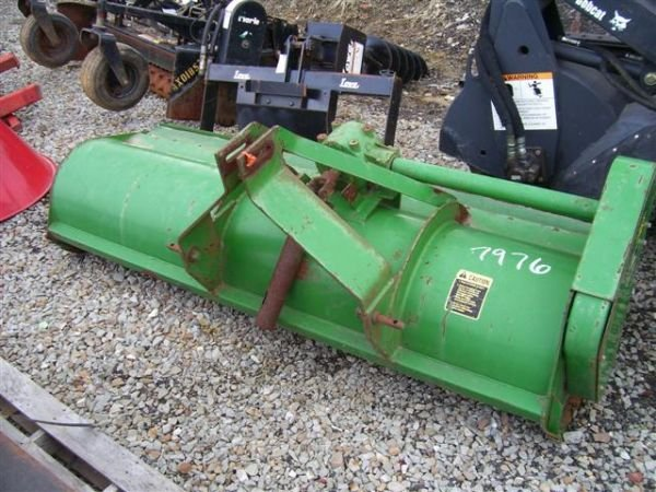 "47: JOHN DEERE 25A 84"" 3PT FLAIL MOWER FOR TRACTORS - 2"