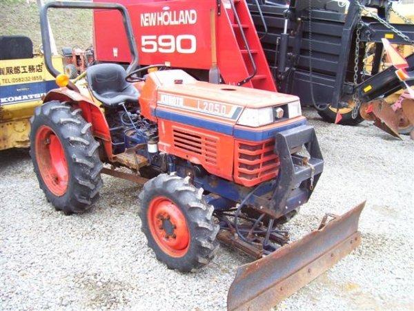 KUBOTA L2050 4WD COMPACT TRACTOR WFRT BLADE – L2050 Kubota Tractor Wiring Diagrams