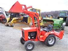 231: NICE INGERSOLL COMPACT TRACTOR W/LOADER-54 HRS