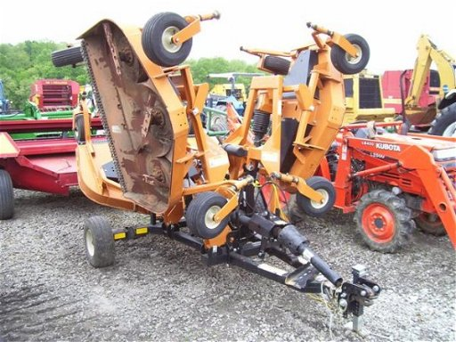 105: VERY NICE WOODS 9180RD 15FT BATWING FINISH MOWER