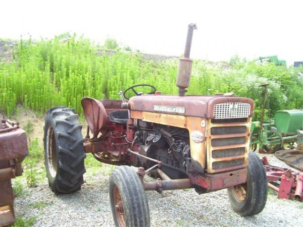 Farmall 460 Tractor Parts : Ih farmall diesel parts only tractor
