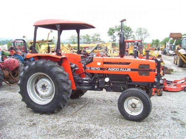1028A: NICE AGCO ALLIS 5670 FARM TRACTOR