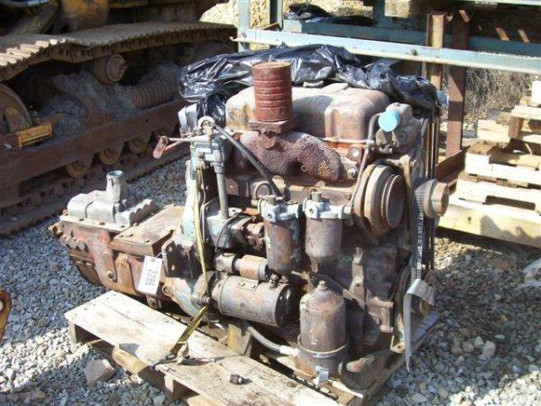 18: DETROIT 503-5201 ENGINE W/TRANSMISSION
